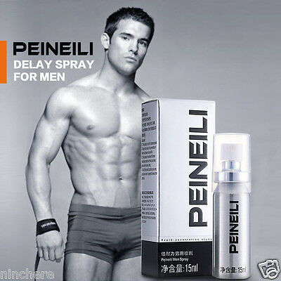 PEINEILI Sex Products Male Delay Spray Prevent Premature Ejaculation Lasting 60