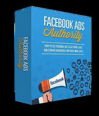 Facebook Ads Authority eBook in PDF format with resell rights
