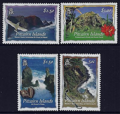 2004 Pitcairn Islands Scenic Views Set Of 4 Fine Mint Mnh