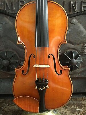 Old Violin, No Label Very nice Selection of Woods