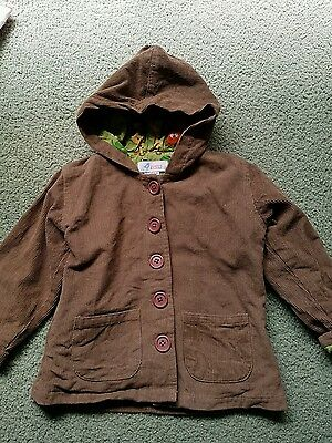 Boys or Girls Brown Jacket Size 2
