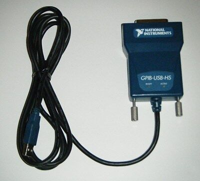 NI GPIB-USB-HS High Performance GPIB Controller, National Instruments *Tested*