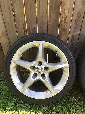 Holden Astra AH Series Alloy Wheels and Tyres Set