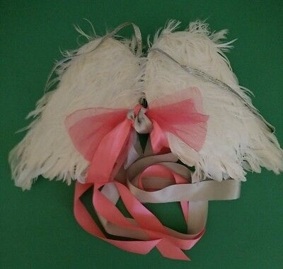 girls small dress up costume feather angel wings