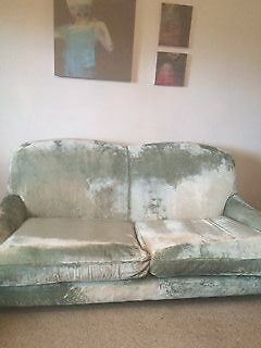 Laura Ashley 3 seater sofa and matching chair