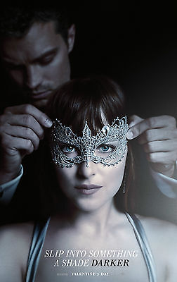 "Fifty Shades Darker  :  Movie 11""x17"" HI-RES POSTER VINYL"