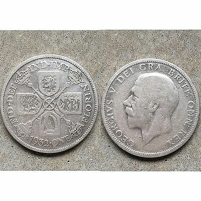 George V 5th 1 One Florin Coin 1932