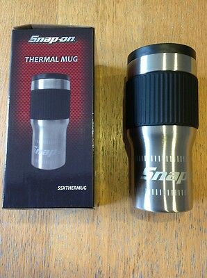 Snap On Thermal Mug Travel Cup Tea Coffee Hot Drink Brand New Boxed L@@k