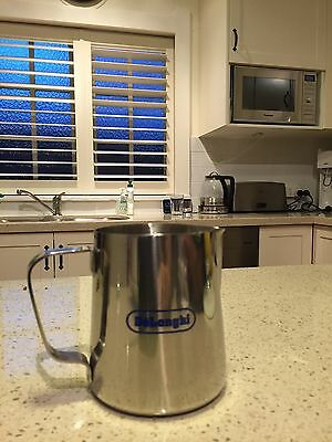 Milk Frothing Jug 600ml Stainless Steel - Brand New
