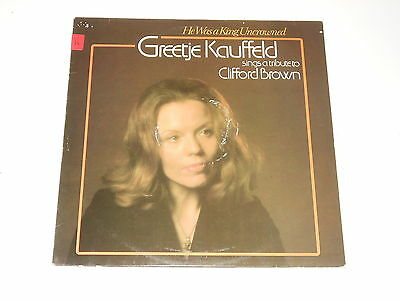 Greetje Kauffeld - LP - Tribute To Clifford Brown - He Was A King Uncrowned