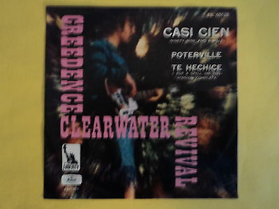 """Single Creedence Clearwater Revival Rare Mexican 7"""" (1968)"""