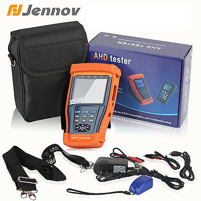 3.5 Inch LCD CCTV Tester Monitor PTZ RS485 UTP Cable Test For CCTV Analog Camera