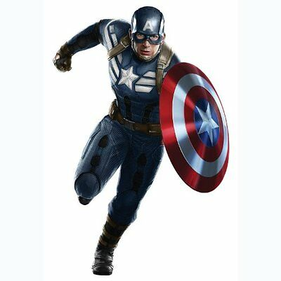 Roommates Rmk2629gm Captain America Giant Peel And Stick Wall Decal