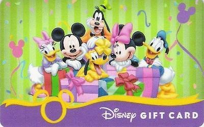 "Carte Cadeau DISNEY USA - DISNEY Gift Card  ""Mickey & ses amis - Octobre 2008""."