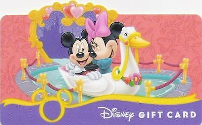 "Carte Cadeau DISNEY USA - DISNEY Gift Card  ""Mickey & Minnie - Octobre 2008""."