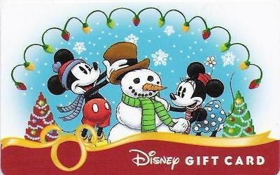 "Carte Cadeau DISNEY USA - DISNEY Gift Card  ""Mickey & Minnie - Novembre 2008""."