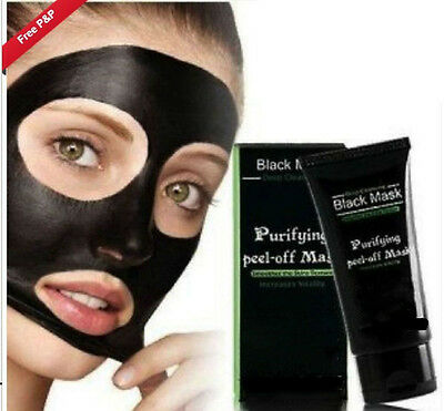 Blackhead Remover Black Mask 50ml Peel Off Skin Purifying Face Mask
