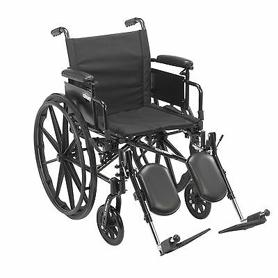 Cruiser X4 Lightweight Dual Axle Wheelchair with Adjustable Detachable Arms, Des