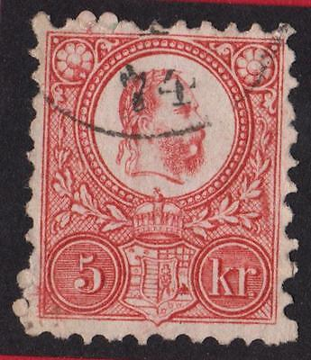 HONGRIE- N°3 - STAMP WITH OBLITÉRATION - price catalog :35 €