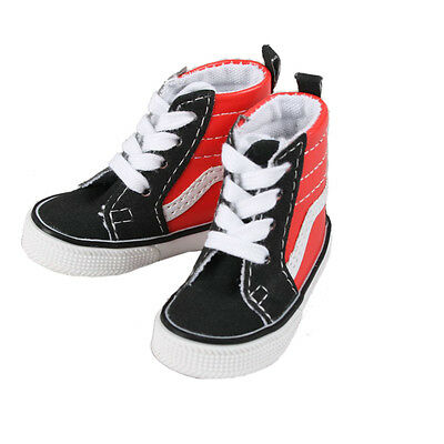 [wamami]1/3 Black&Red Leather Covering High Shoes/Sneakers For SD BJD Dollfie