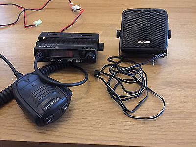 Albrecht AE-6110 Ultra Small CB Radio With External Speaker