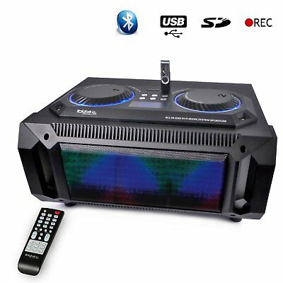 Ibiza Sound SPL BOX 150 Lautsprecher 200 W 2.1 Bluetooth USB  SD FM