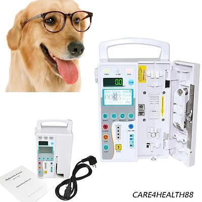 CE Veterinary Animal medical  IV Fluid Infusion Pump Automatic visual Alarm +KVO