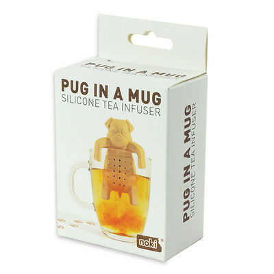 Pug In A Mug Silicone Tea Infuser For Dog Lovers Perfect Novelty Item
