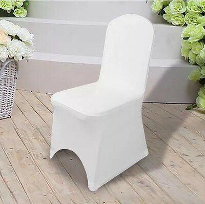 50 Arched Front Spandex Lycra Wedding occasion Anniversary Banquet Chair Covers