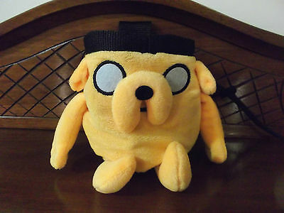 Rock Climbing Chalk Bag made from a plush toy - Jake the Dog Adventure Time
