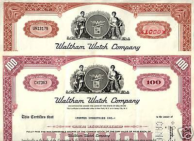XX-RARE LOVELY ANTIQUE ART DECO WALTHAM WATCH STOCK! OLD LOGO cv $100! 2 for $20