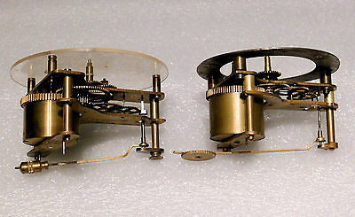 Antique Clock Movements X 2 Steampunk Spares or repairs