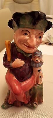 """MR PUNCH - TOBY JUG  Vintage MELBA WARE 'Punch' Toby Jug 7"""" Tall OUTSTANDING"""