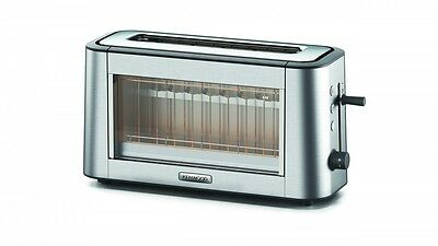 Kenwood Persona Stainless Steel & Glass 2 Slice Toaster TOG800CL - Free Shipping