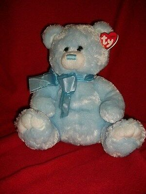 "Ty  Classic Radcliffe Blue bear plush 11"" 2011 NWT"