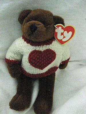NEW CASANOVA TY Attic Treasure collectable bear - from pet and smoke free home -
