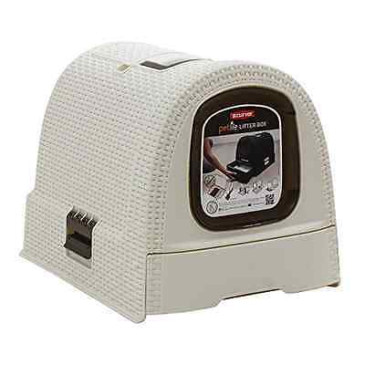 Curver Litterbox 51 x 38.5 x 39.5 cm White - SAME DAY DISPATCH