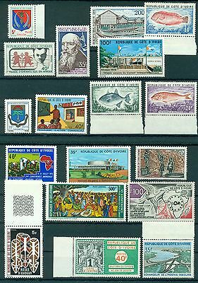 IVORY COAST * YEAR 1973 COMPLETE* (22 stamps)* MNH** Mi.No 421-442