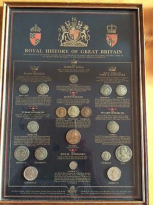 Historic Coin Collection. Royal History Of Great Britain.