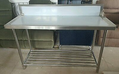 Fed Stainless Steel Kitchen Food Prep Table