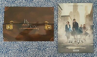 IMAX Fantastic beasts and where to find them Harry Potter movie ticket poster UK