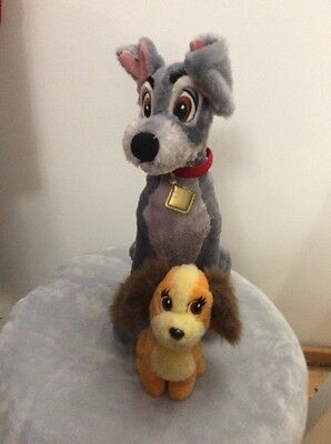 """Lady & The Tramp Soft Toys 16"""" /  7"""""""