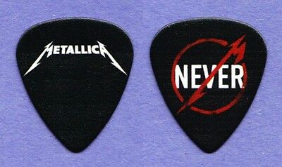 Metallica Through The Never Promo Black Guitar Pick