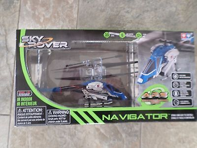 Sky Rover Navigator Radio Controlled Helicopter Skyrover New Free Post