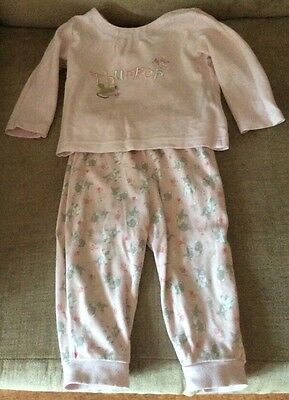Disney Store Baby Girl Pjs And Dressing Gown