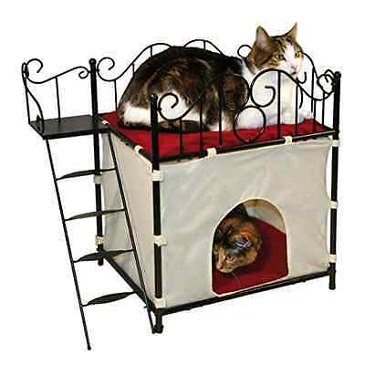 Kerbl Diva Metal Frame Cat House 60 X 36 X 54 cm - SAME DAY DISPATCH