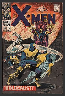 X-Men #26 VG- 3.5 Cream to Off White Pages