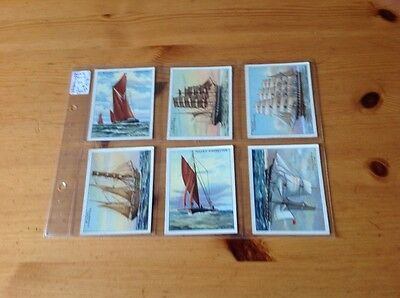 cigarette cards.Wills.Rigs of Ships. Full set. Good condition.