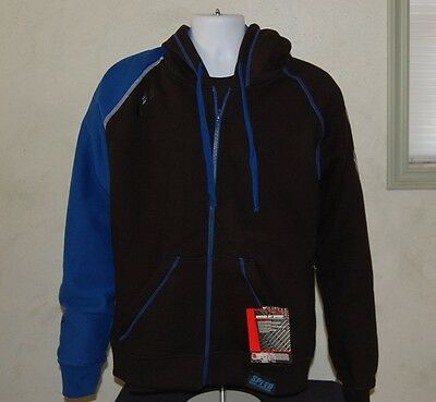 Speed and Strength Men's United by Speed Armored Hoody Blue & Black M