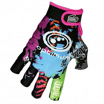 "Optimum ""stik Mits"" Rugby Gloves - New ""street"" Design Pair - Size Large."